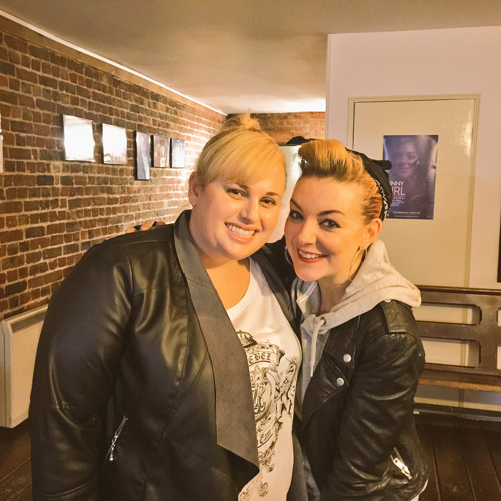 RT @RebelWilson: Thanks @Sheridansmith1 and the amazing cast of FUNNY GIRL for a brilliant show tonight in London X Viva funny girls! https…