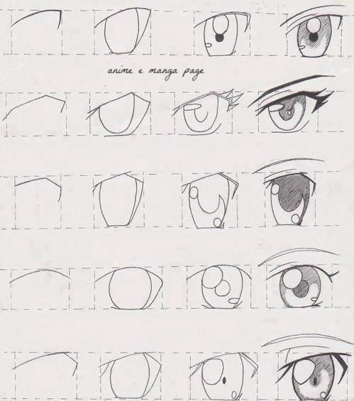 Art On Twitter تعلم رسم عيون الـ انمي رسام رسمه ارت