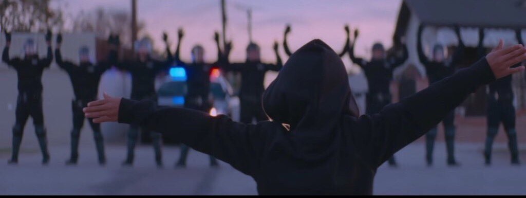 this is one of the most powerful images ever. music with a message. beyonce killed this video. #BlackLivesMatter