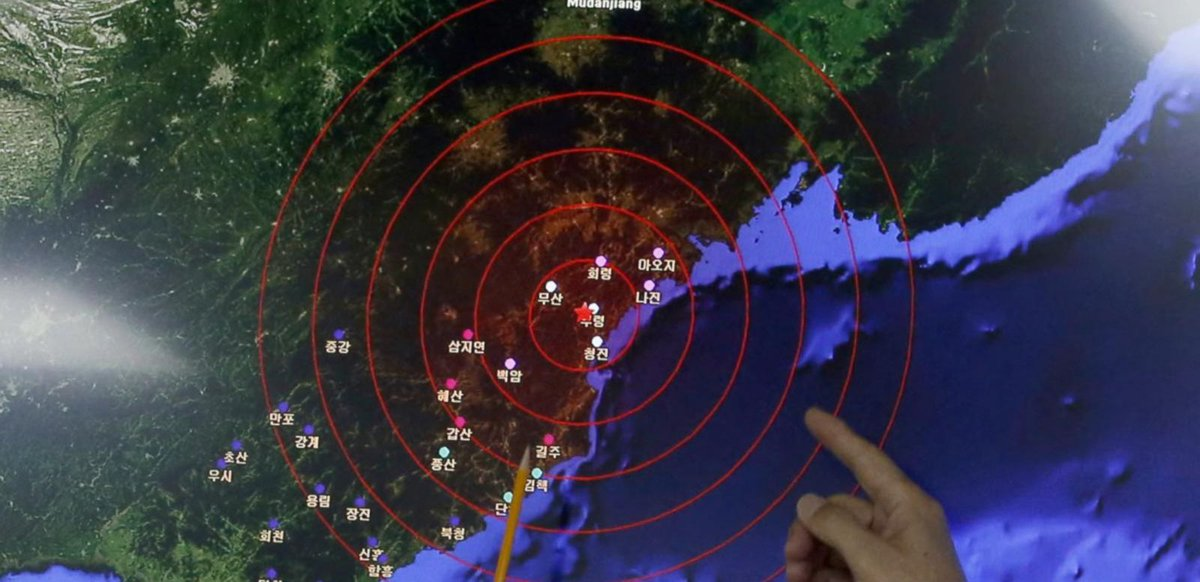 North Korea launches long-range rocket in alleged test of banned missile technology