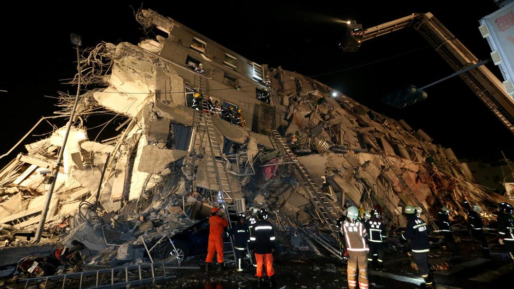 More than 130 missing, 18 dead after powerful earthquake rattles Taiwan