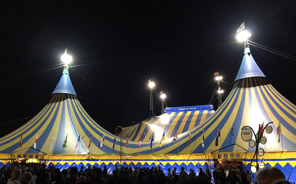One day if you can't find me, I probably ran away with the circus. #CirqueDuSoleil https://t.co/El4XZhLbbH