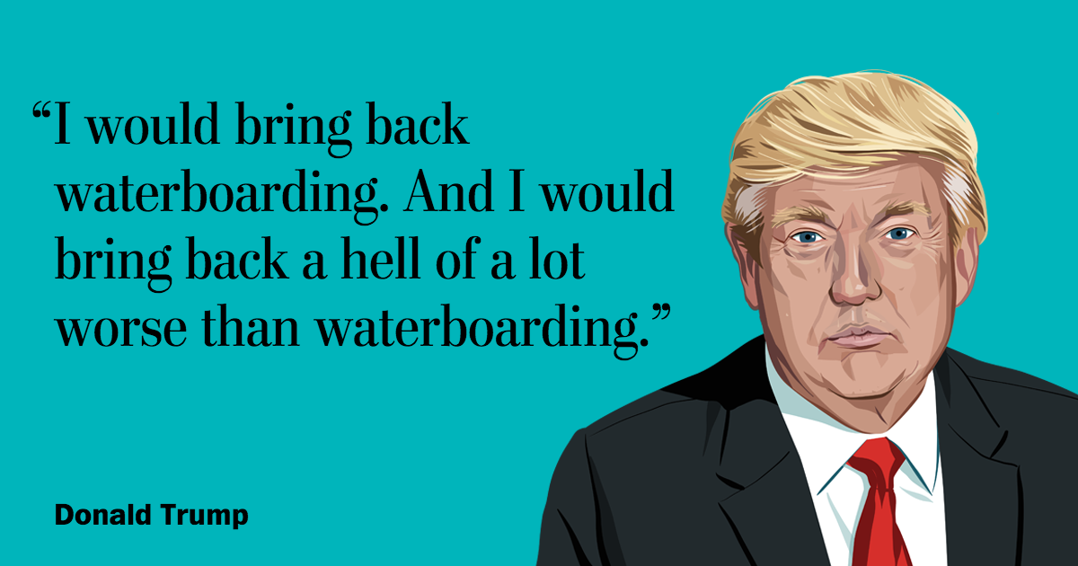 Donald Trump on torture
