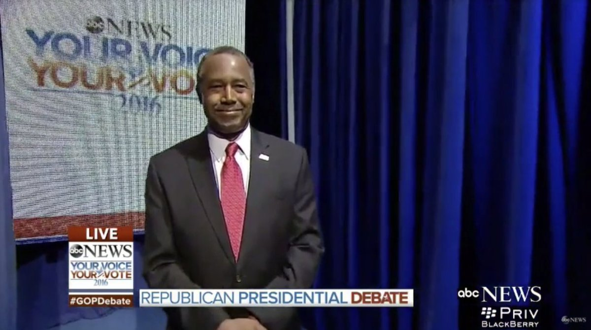 The opening of the GOP debate was completely bungled