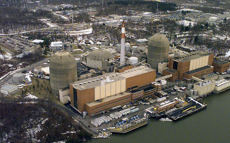Radioactive material found in groundwater below New York nuke plant