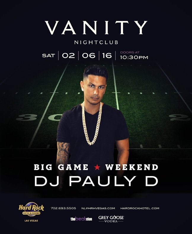 RT @VanityLV: We'll see you tonight for @DJPaulyD ! Tickets available at the door! https://t.co/RFt5TwmrJf
