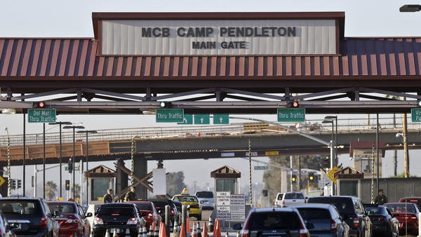 Camp Pendleton tightens security, limiting visitor access