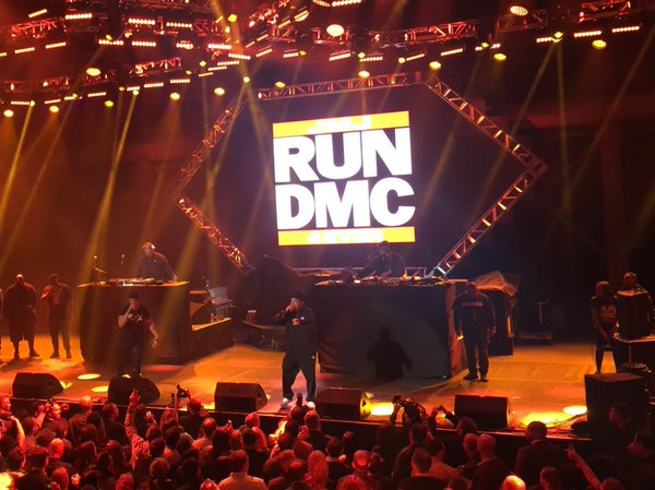 The stars were out at Pier 70 where Run DMC performed, reports @SFMarMendoza.