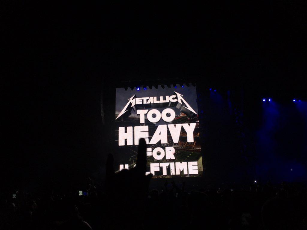 It's on! TheNightBefore @Metallica