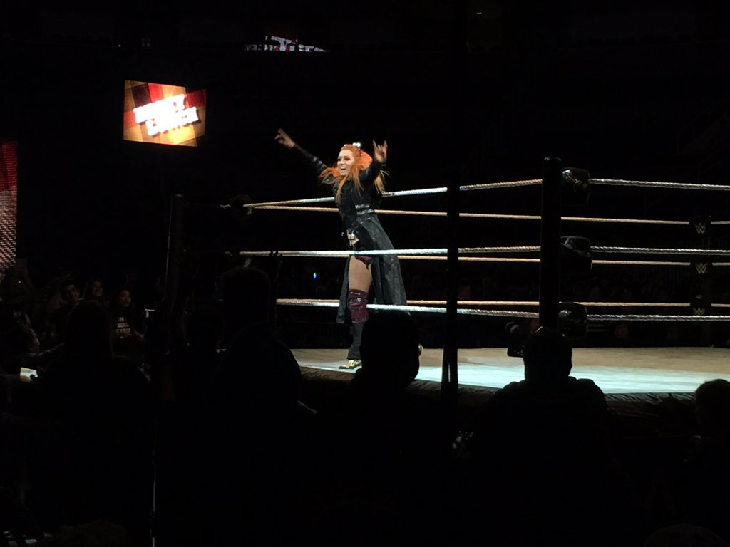 Becky Lynch #WWESanJose @BeckyLynchWWE https://t.co/DXHhdeirCL
