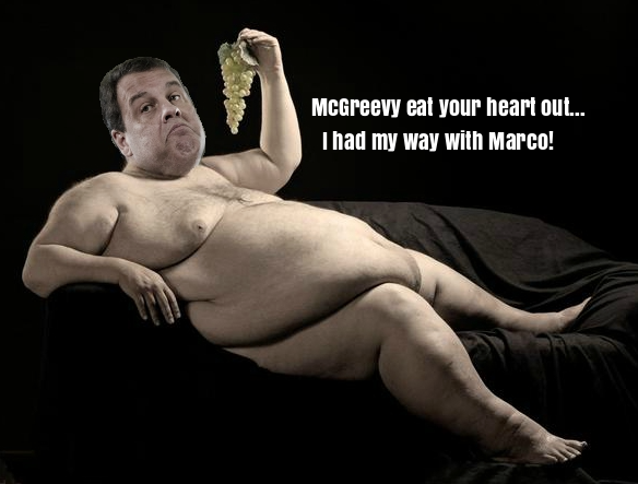 If Marco Rubio can't handle bubble butt Christie…