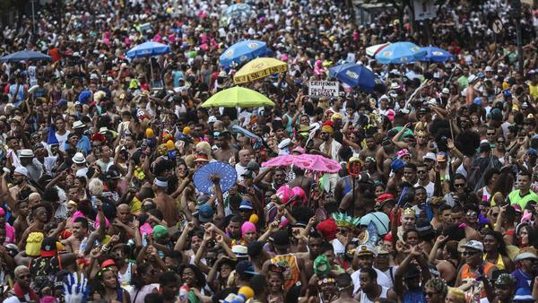 In Brazil, Carnival-goers won't let Zika or economic woes ruin the party