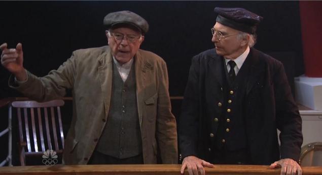 Bernie Sanders makes 'SNL' cameo as Larry David hosts