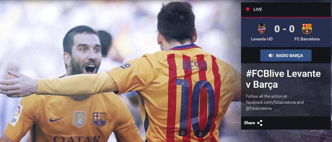 Hasil Levante vs Barcelona, Levante vs Barcelona, Levante, Barcelona, Hasil Liga Spanyol