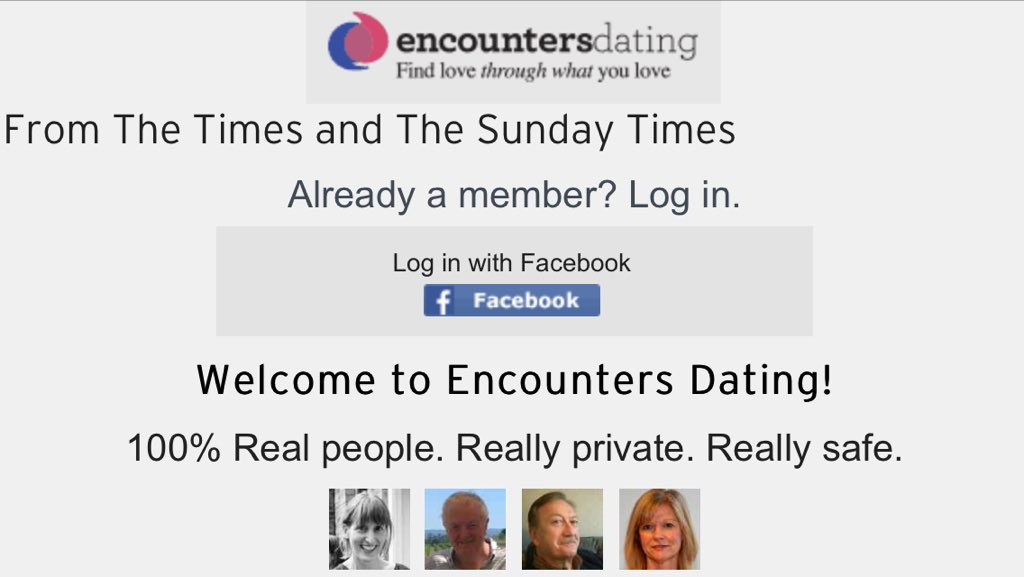 Dating encounters sunday times