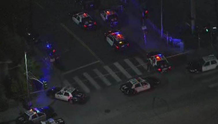 JUST IN: Officer-involved shooting in Boyle Heights draws heavy police presence