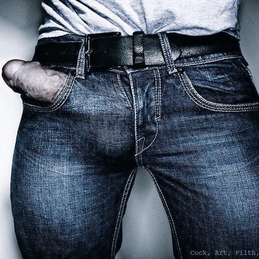Cock Zipper Pouches