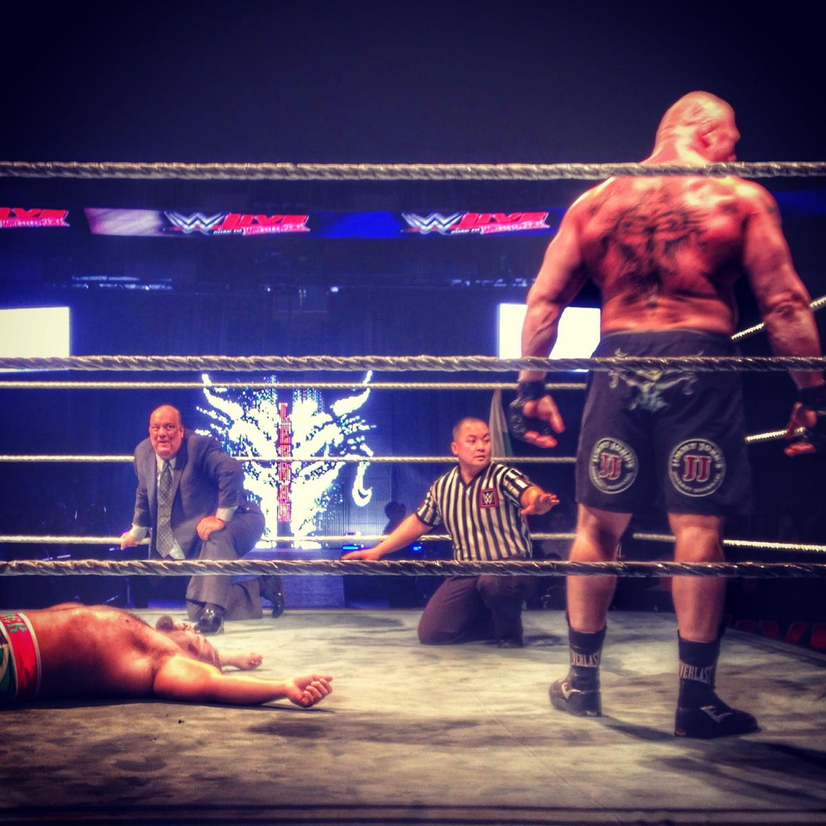 Pretty much sums it up @HeymanHustle #wwesanjose https://t.co/i2pHm8H8B4