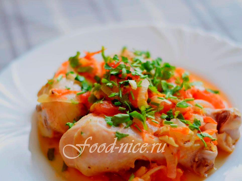Вторые блюда из мяса курицы рецепты с фото