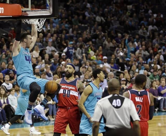 Nic Batum, Kemba Walker lead Charlotte Hornets comeback over Wizards