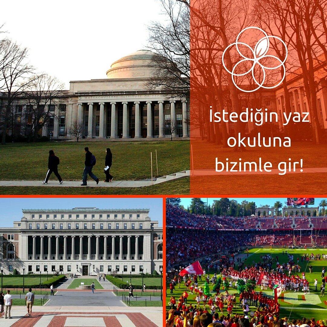İstediğin yaz okullarına bizimle girip, hayalindeki okulu tanıyabilirsin! :) Daha fazla bilgi için: 05336131669
