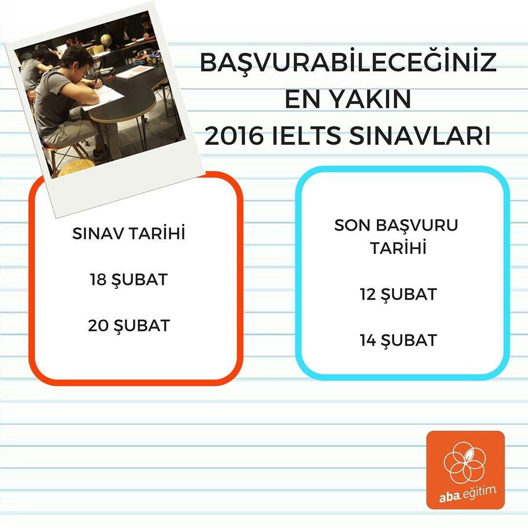 Girebileceğin en yakın IELTS sınavları hangileri? #abaegitim  #yazokulu #summerschool #workhard #playhard #youth