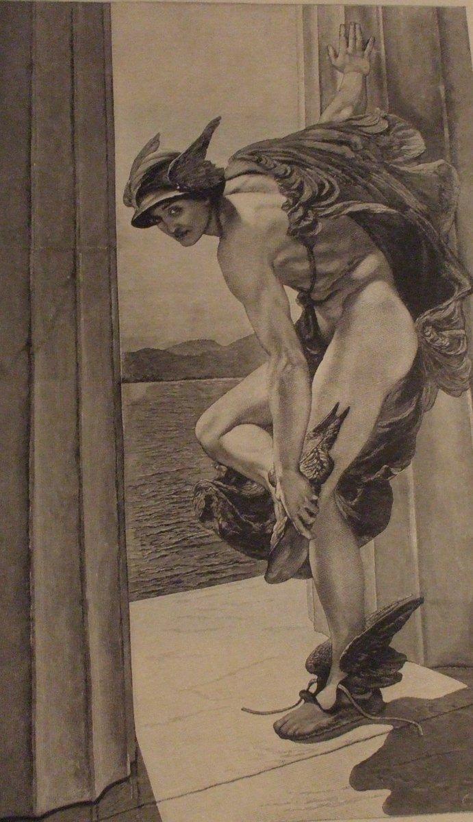 Bibliofilo On Twitter Rappresentazione Di Hermes Messaggero Degli