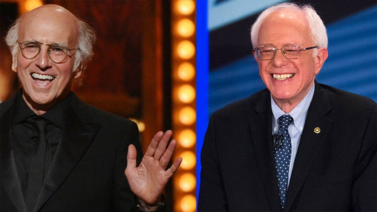 Bernie Sanders makes SNL appearance with Larry David