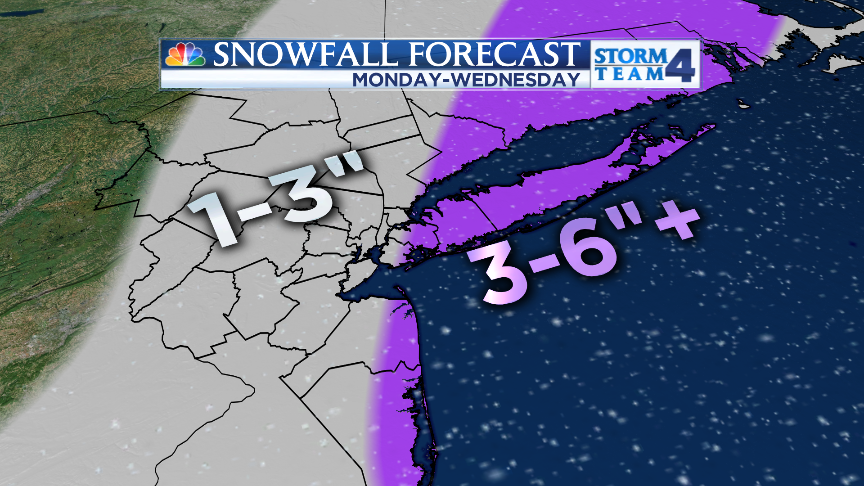 SEVERAL DAYS OF SNOW are on the way, but forecast accumulations aren't what you might expect!