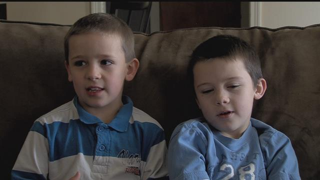 These two lost their mom in a car accident. >>Now, they have a simple message: Buckle Up.