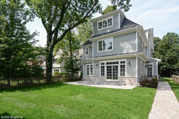 Looking for a newly-constructed property in East Wilmette? This one will cost you $1.895M