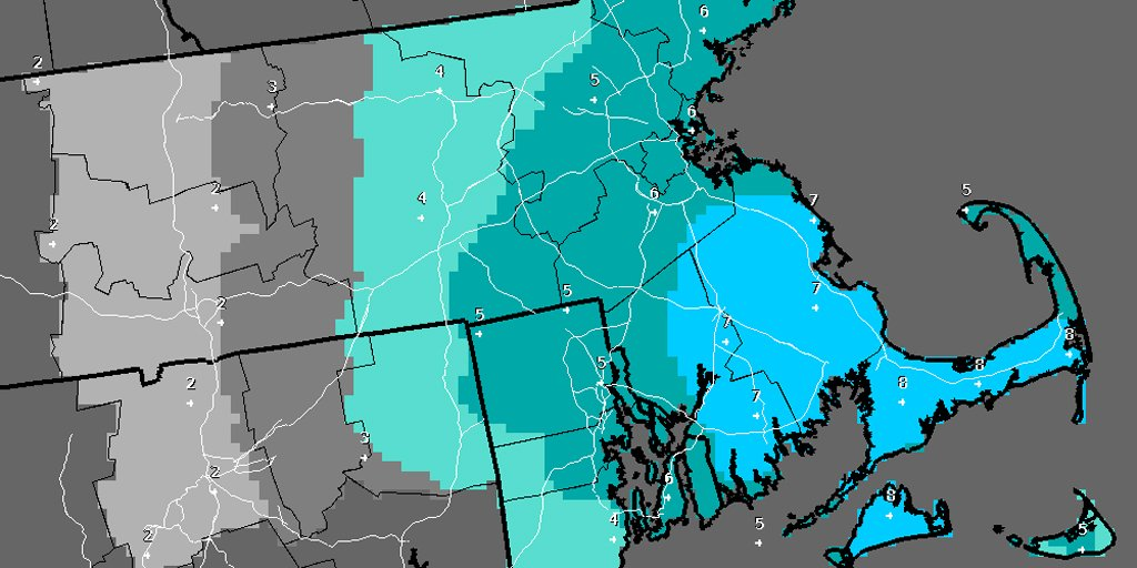 Snow, difficult travel, strong winds, possible outages expected in Eastern Mass. Monday