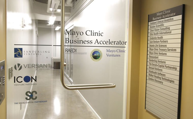 Mayo Clinic Accelerator acts as launching pad for start-ups: https://t.co/1XsGDZIdj6 @MayoClinic #rochmn https://t.co/L5qPoJXK3l