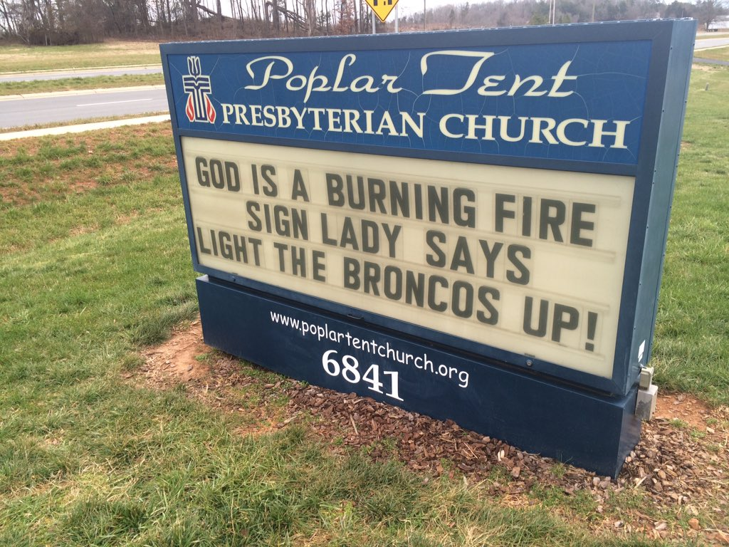 Super Bowl Sunday morning thoughts from Sign Lady. @wsoctv