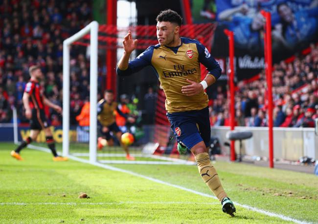 Bournemouth 0-2 Arsenal (HT)