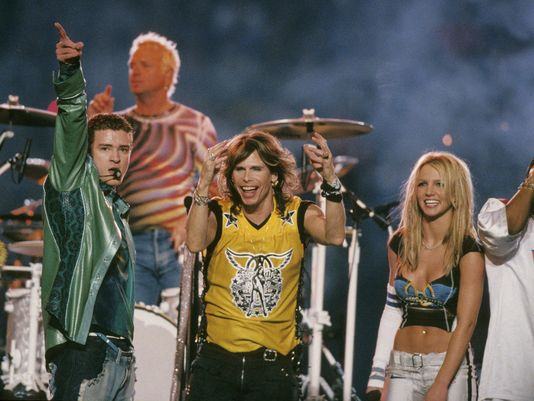 Graham: *NSYNC, Britney 2001 @SuperBowl halftime rocked