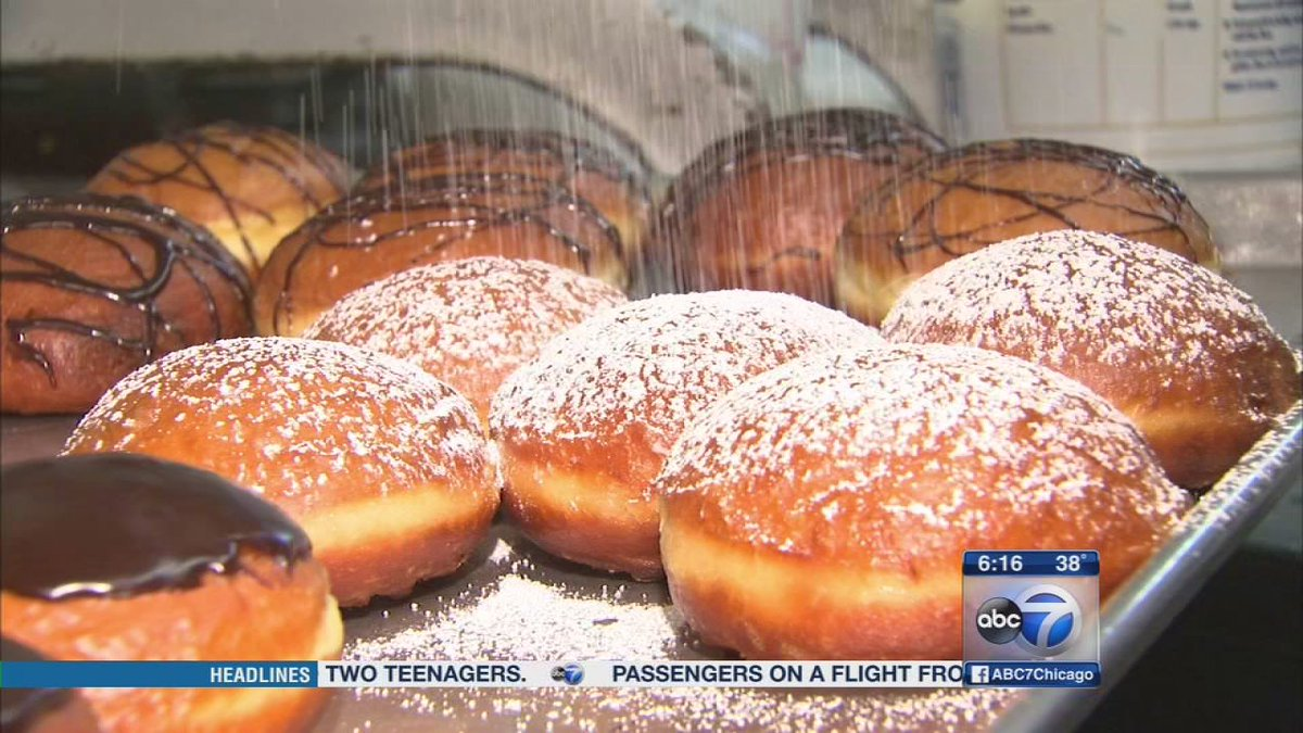 Paczki Day is upon us! Watch as @stevedolinsky gets a preview at Delightful Pastries
