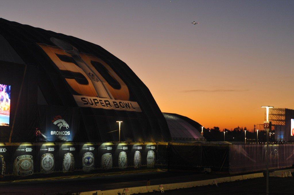 Sunrise in Santa Clara California, home to Super Bowl 50. KeepPounding