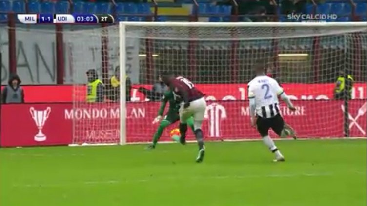 Alex, AC Milan, Udinese