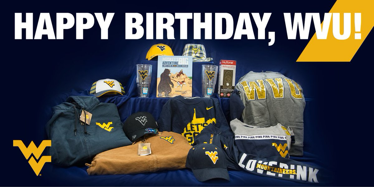 To celebrate #WVU turning 149, we have some