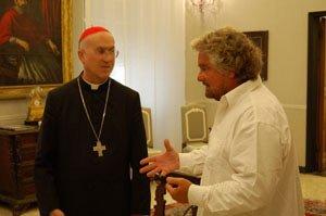 Con i gay ma anche con il Vaticano. Con i razzisti, ma anche antirazzisti. Uno vale uno, ma qualcuno anche più. #M5S https://t.co/x4ovNaL38I