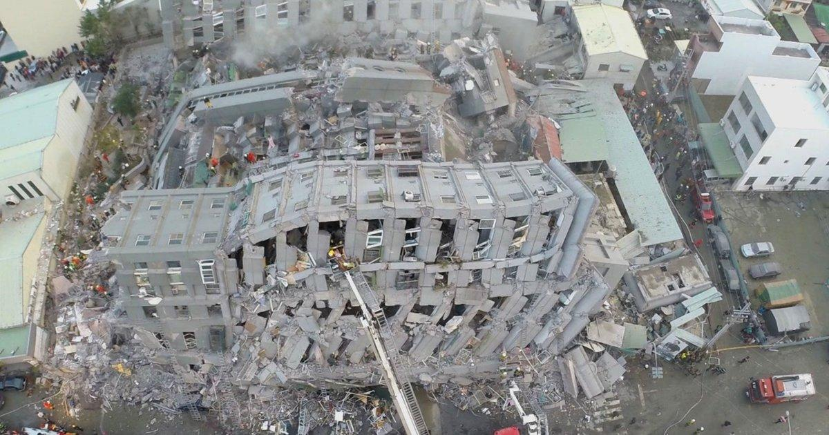 Rescuers are still searching for survivors in aftermath of Taiwan earthquake