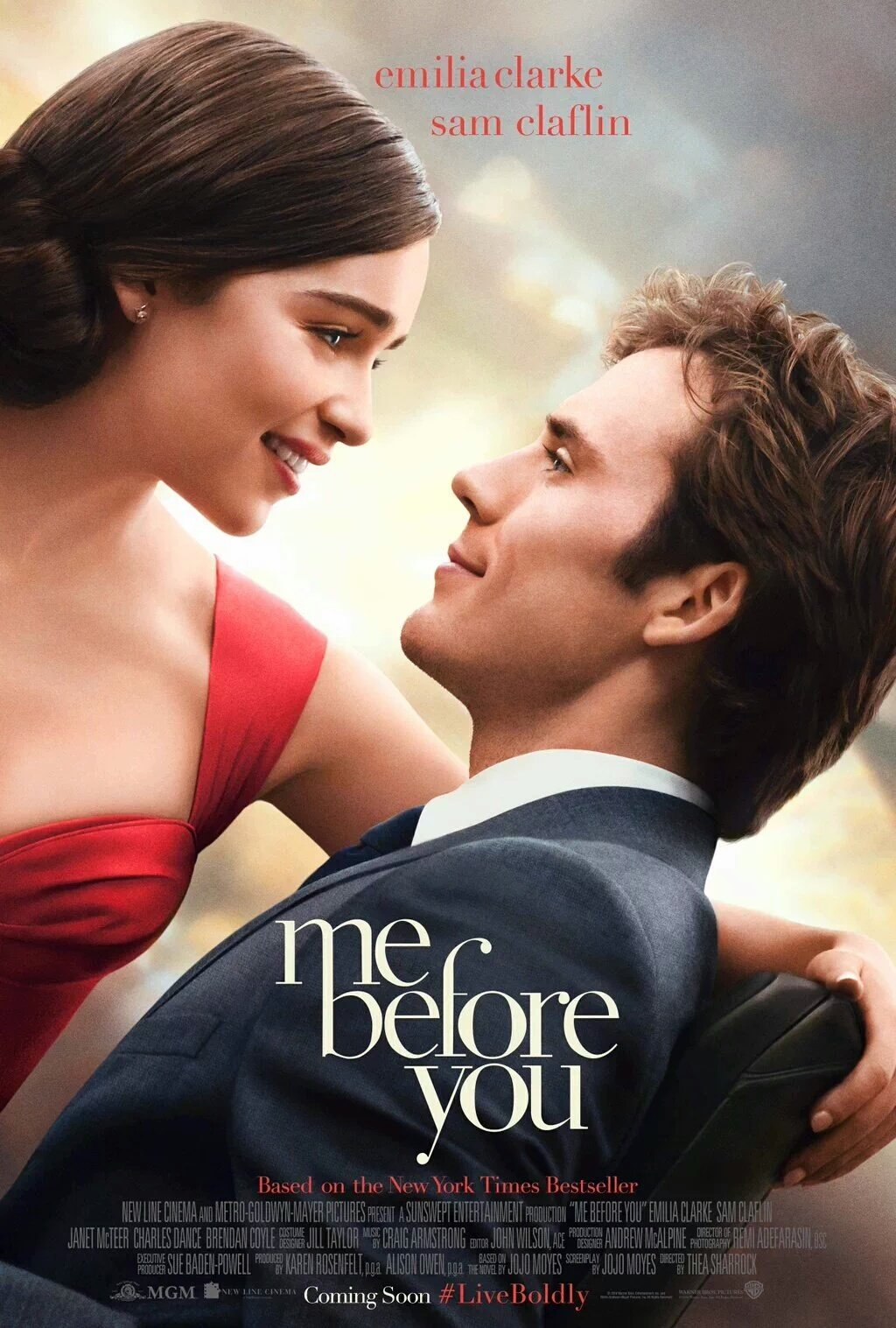 New 'Me Before You' Trailer Featuring Emilia Clarke & Sam Claflin 1