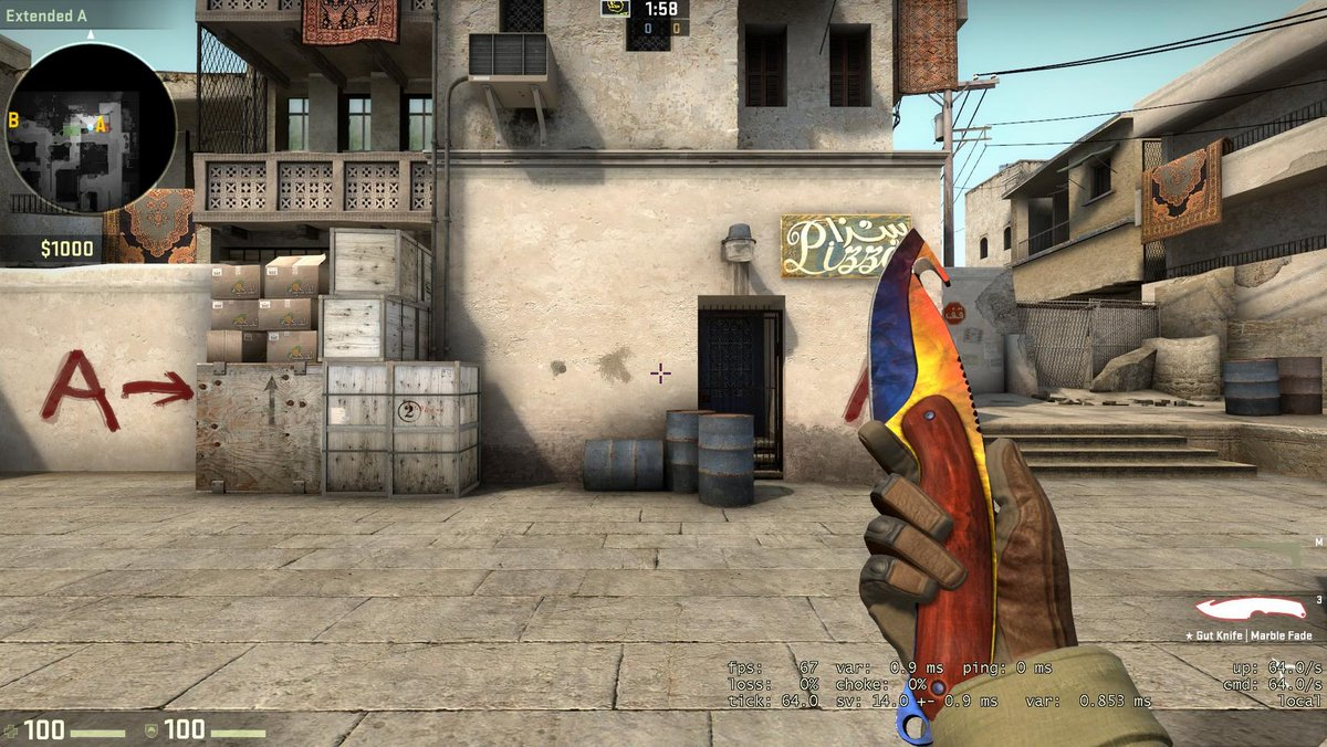 Csgo Dignity On Twitter Gut Knife Marble Fade Giveaway Ending