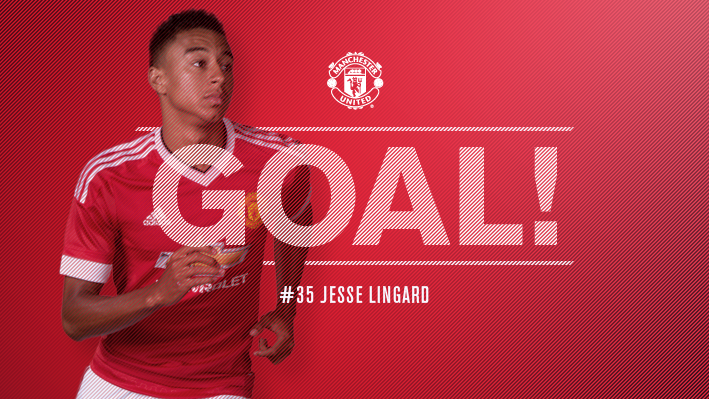 61' - GOAAAL! Chelsea 0 United 1. Jesse Lingard gives the Reds the lead with a fantastic strike! #mufc