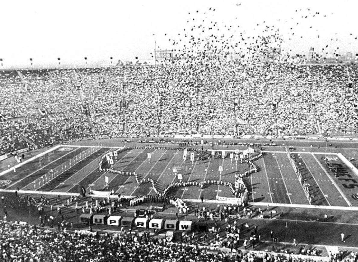 1st Super Bowl halftime show was University of Arizona marching band. https://t.co/MNZsWCJ1yS Photo: UA Alumni Assoc https://t.co/rztV75Dj9Q