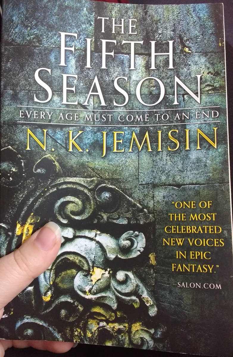 There were many things I loved about NK Jemisin's The Fifth Season. https://t.co/GhNFmc6ovR