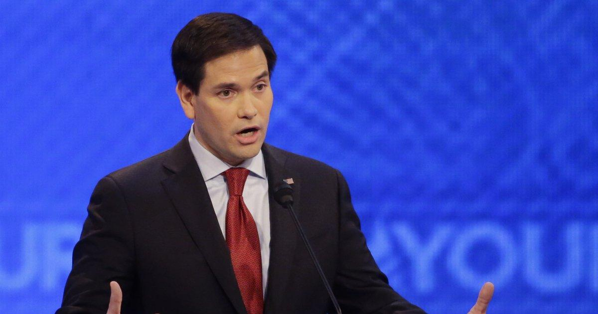 MARCO ROBOTO: Marco Rubio WANTS people to keep showing the clip of him acting like a machine