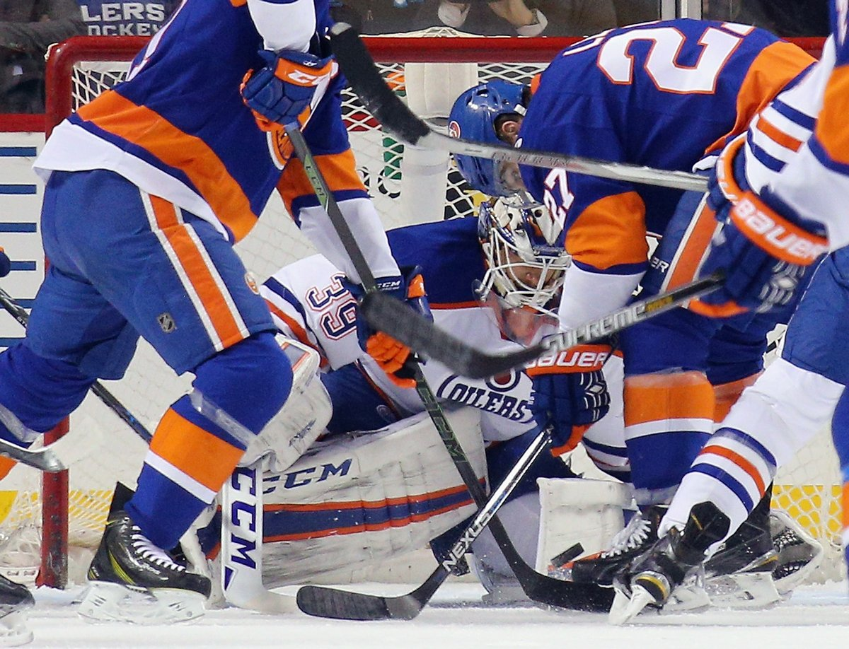 Now trending: the hashtag WeWant10 as Isles continue to pummel Oilers EDMvsNYI NHL