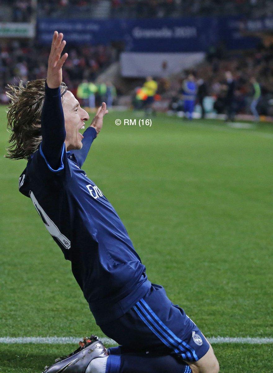 Luka Modric, Real Madrid, Hasil Liga Spanyol, Hasil Granada vs Real Madrid